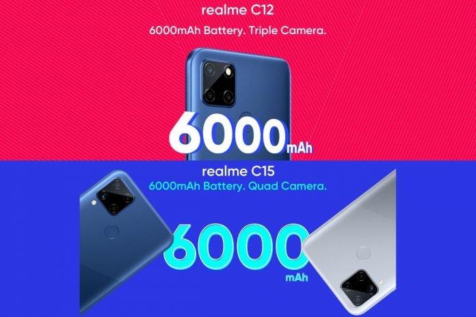 Realme C12, Realme C15