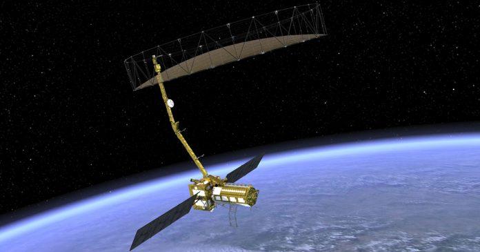 ISRO-NASA satellite
